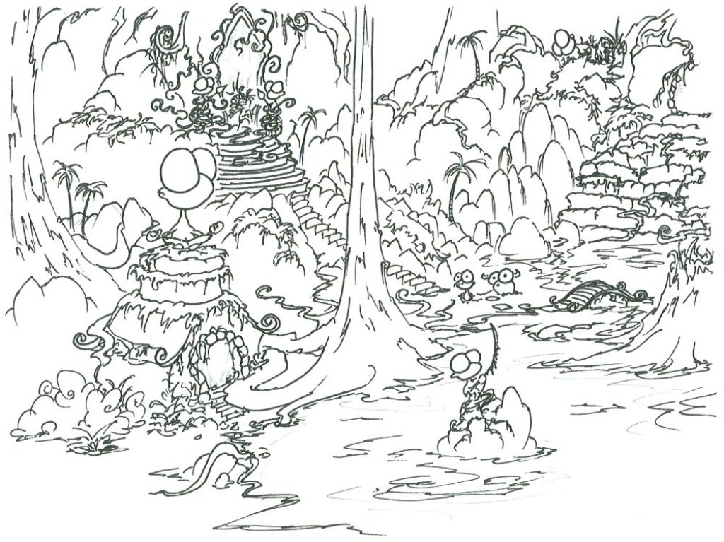 1024x767 Creative Ideas Rainforest Coloring Pages To Print For Preschoolers