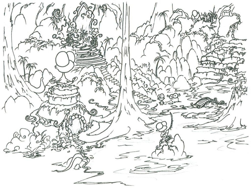 1024x767 Rainforest Coloring Pages To Print For Kids Collection Best