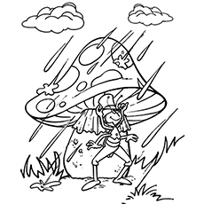 Rainy Day Coloring Pages At Getdrawings Com Free For