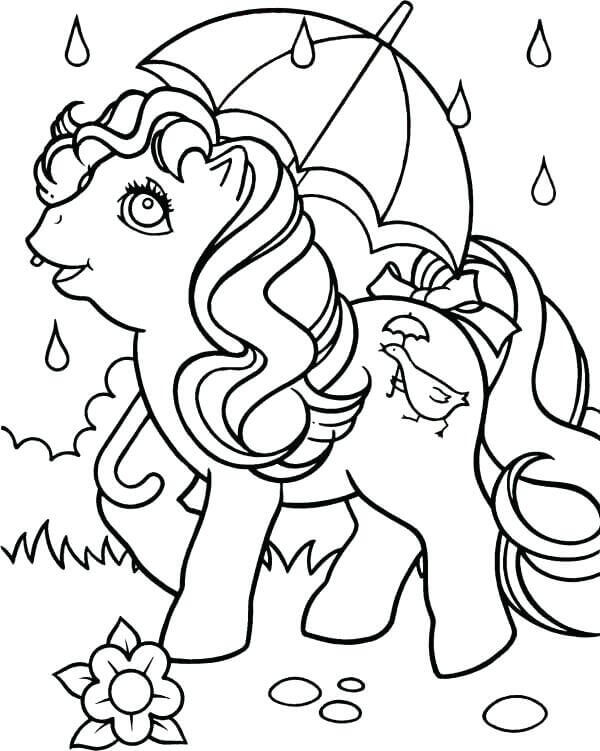 Rainy Season Coloring Pages