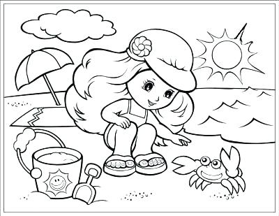 400x309 Season Coloring Pages Season Coloring Pages Summer Season Coloring