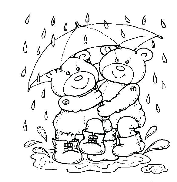 584x600 Weather Coloring Pages Weather Coloring Pages Weather Coloring