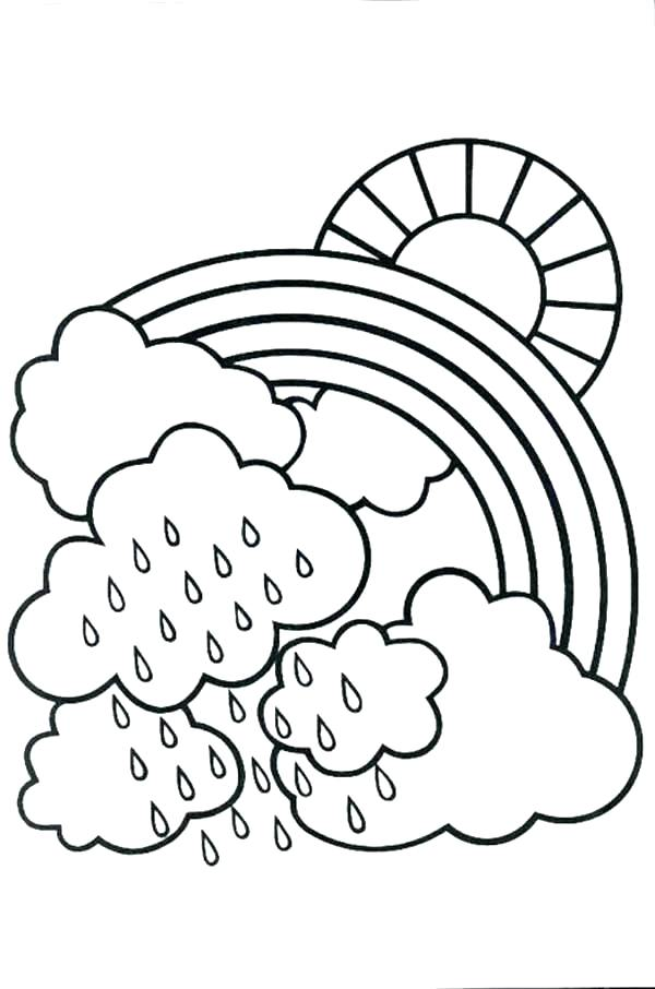 600x906 Rainy Day Coloring Pages Coloring Page Coloring Book Rainy Day