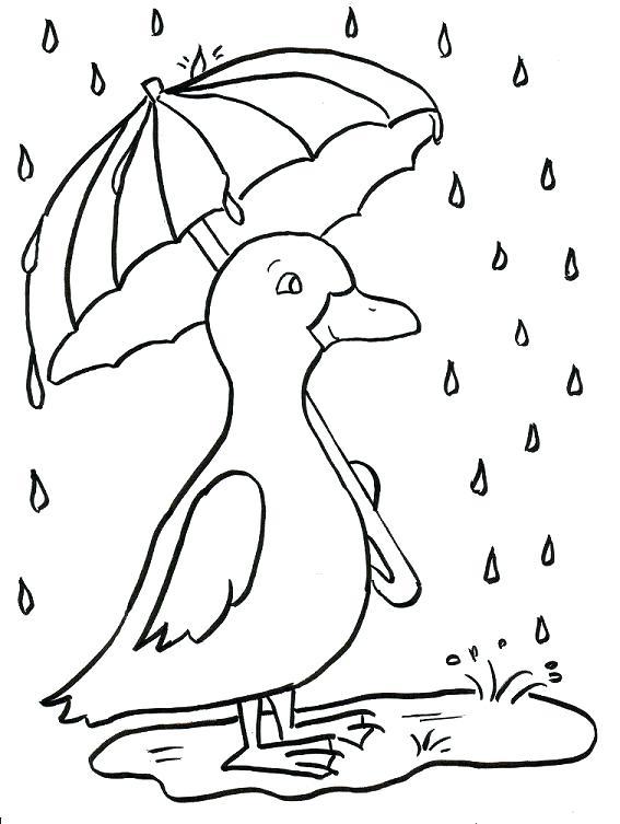 567x753 Rainy Day Coloring Sheets Rainy Day Coloring Page Terrific Rainy
