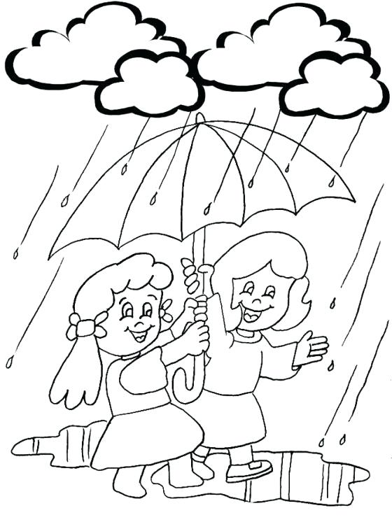 560x746 Weather Color Pages Rainy Day Coloring Pages Printable Coloring
