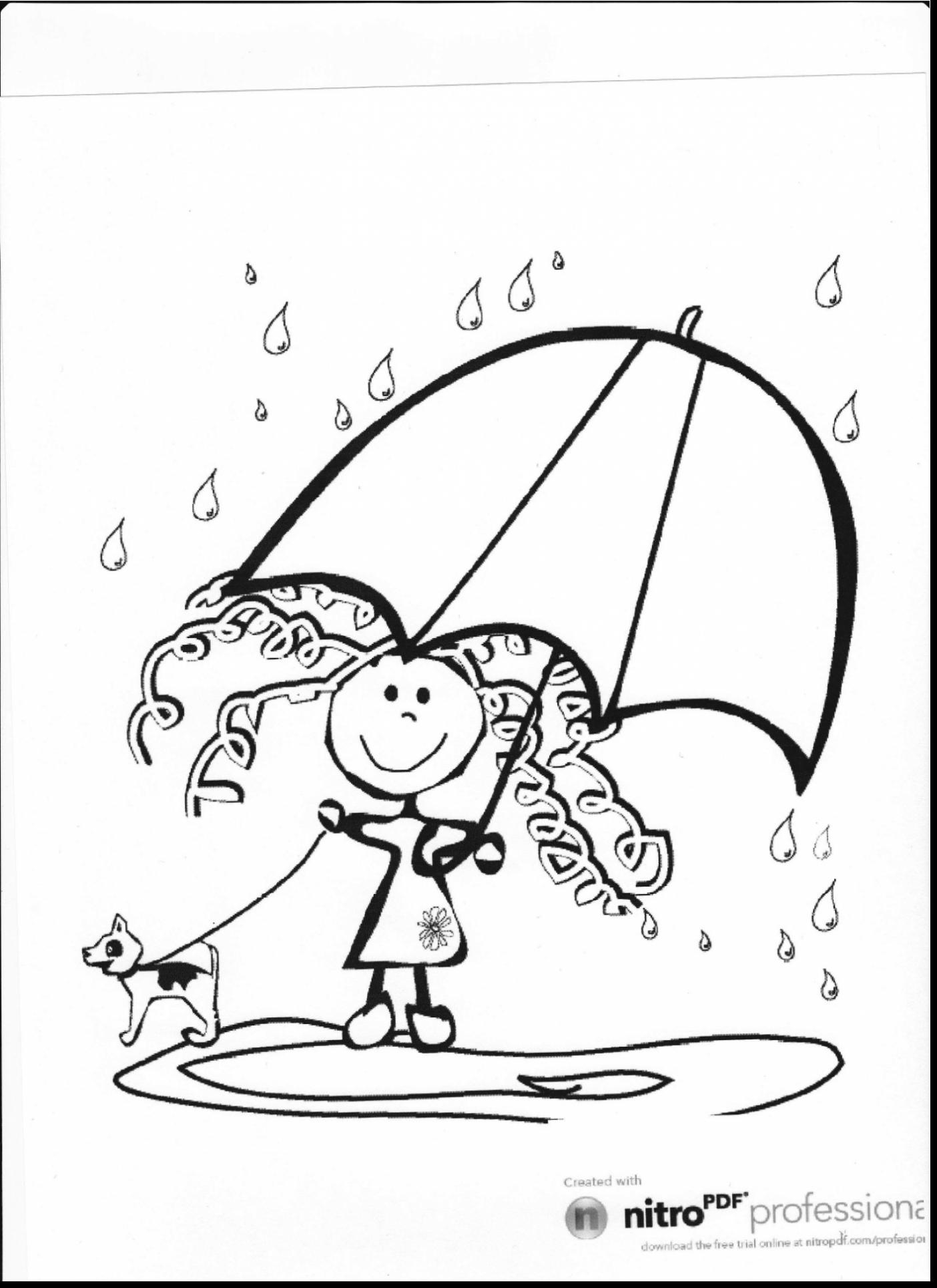 Rainy Weather Coloring Pages at GetDrawings   Free download