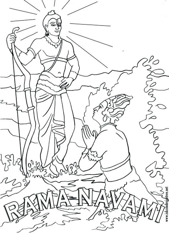 570x786 Hanuman Coloring Pages Ram Coloring Pages Lord Hanuman Coloring