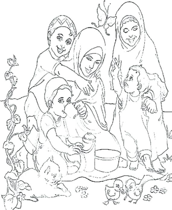 570x697 Ramadan Coloring Pages Coloring Pages For Kids Family Guide