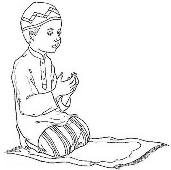 570x569 Ramadan Coloring Pages For Kids
