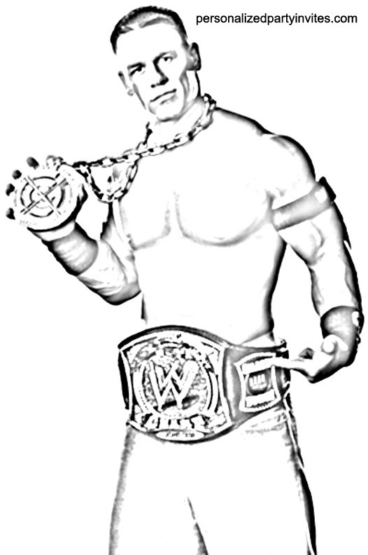 Randy Orton Coloring Pages