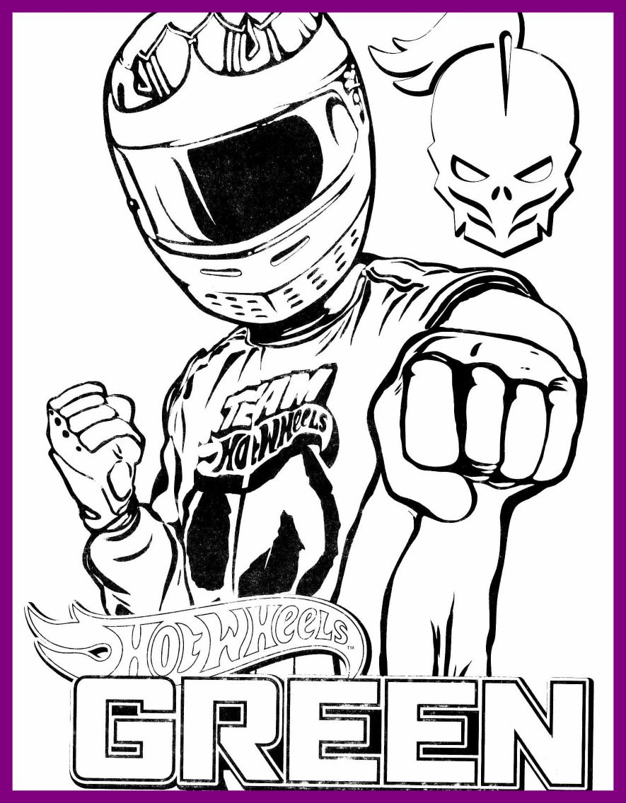 885x1135 Hot Wheels Car Coloring Pages