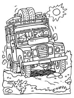 236x314 Landrover S Lll From The Cars Colouring Pages Land Rover