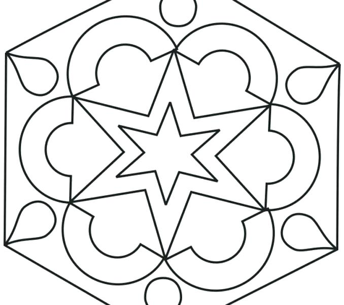 Rangoli Designs Coloring Pages At Getdrawings Com Free For