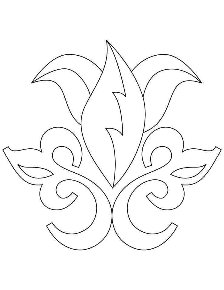 738x954 Rangoli Coloring Pages And Floral Coloring Page Rangoli Designs