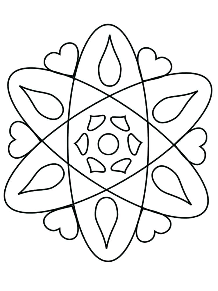 750x1000 Rangoli Coloring Pages Coloring Page Easy Rangoli Coloring Pages