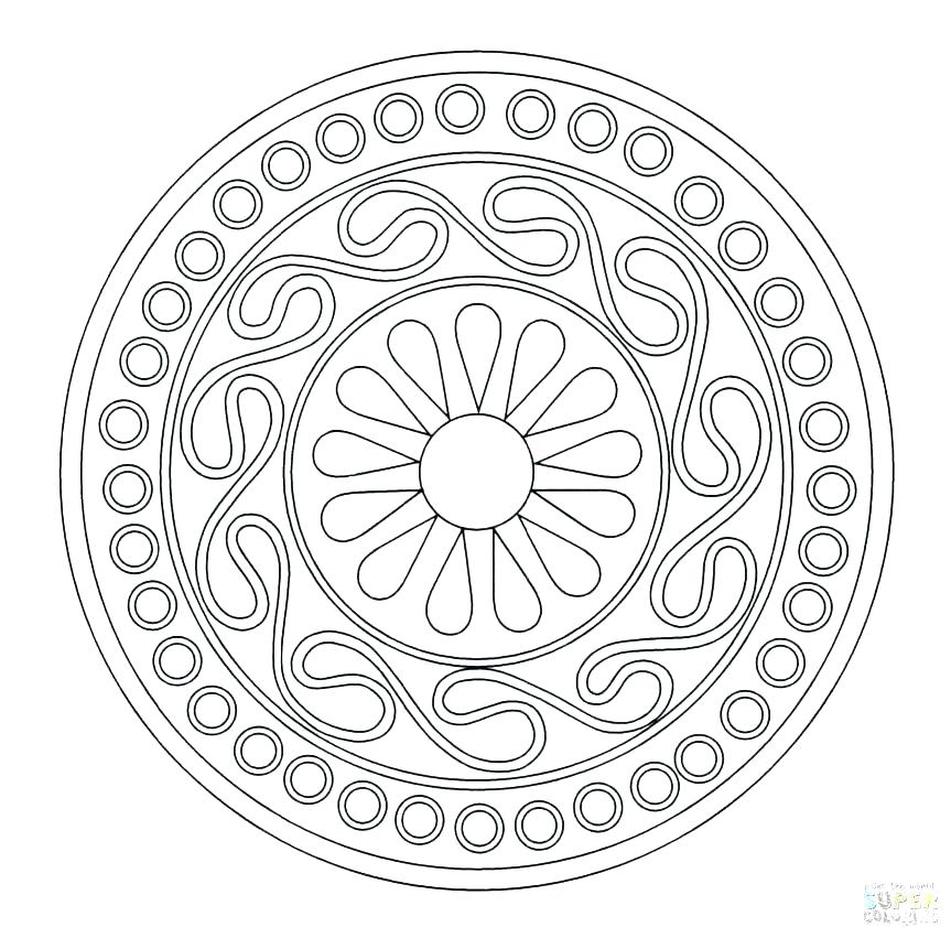 863x851 Rangoli Coloring Pages Designs Printable Coloring Pages Coloring
