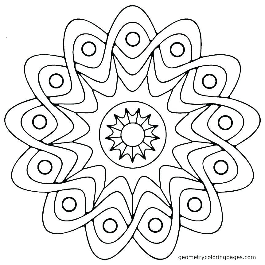 863x863 Rangoli Designs Printable Coloring Pages Coloring Pages Coloring