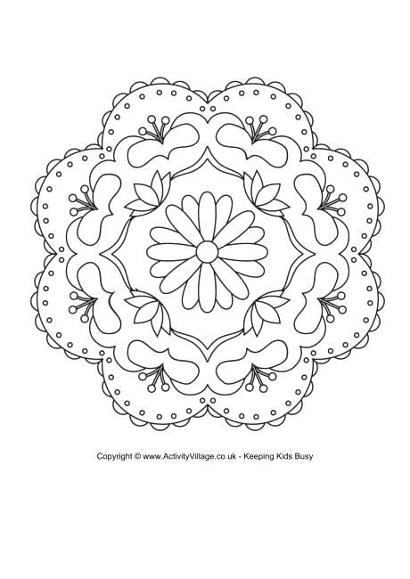460x650 Rangoli Designs Printable Coloring Pages Colouring Page Rangoli