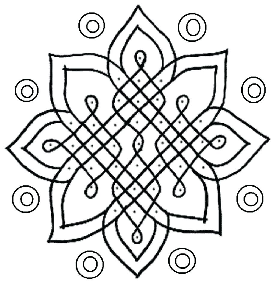 913x1000 Coloring Page Rangoli Coloring Pages Pictures Of Designs Rangoli