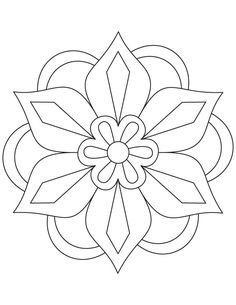 236x305 Mandala Coloring Pages For Kids Coloring Pages Education