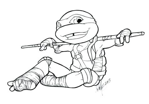 476x333 Raphael Ninja Turtle Coloring Page Image Clipart Images