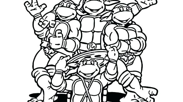 585x329 Free Coloring Pages Of Ninja Turtles Ninja Turtle Coloring Pages