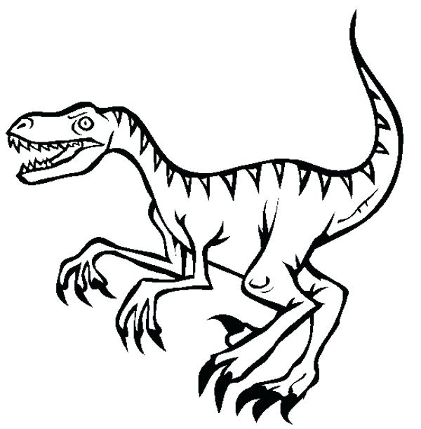 600x612 Jurassic Park Raptor Coloring Pages Coloring Pages Coloring Pages