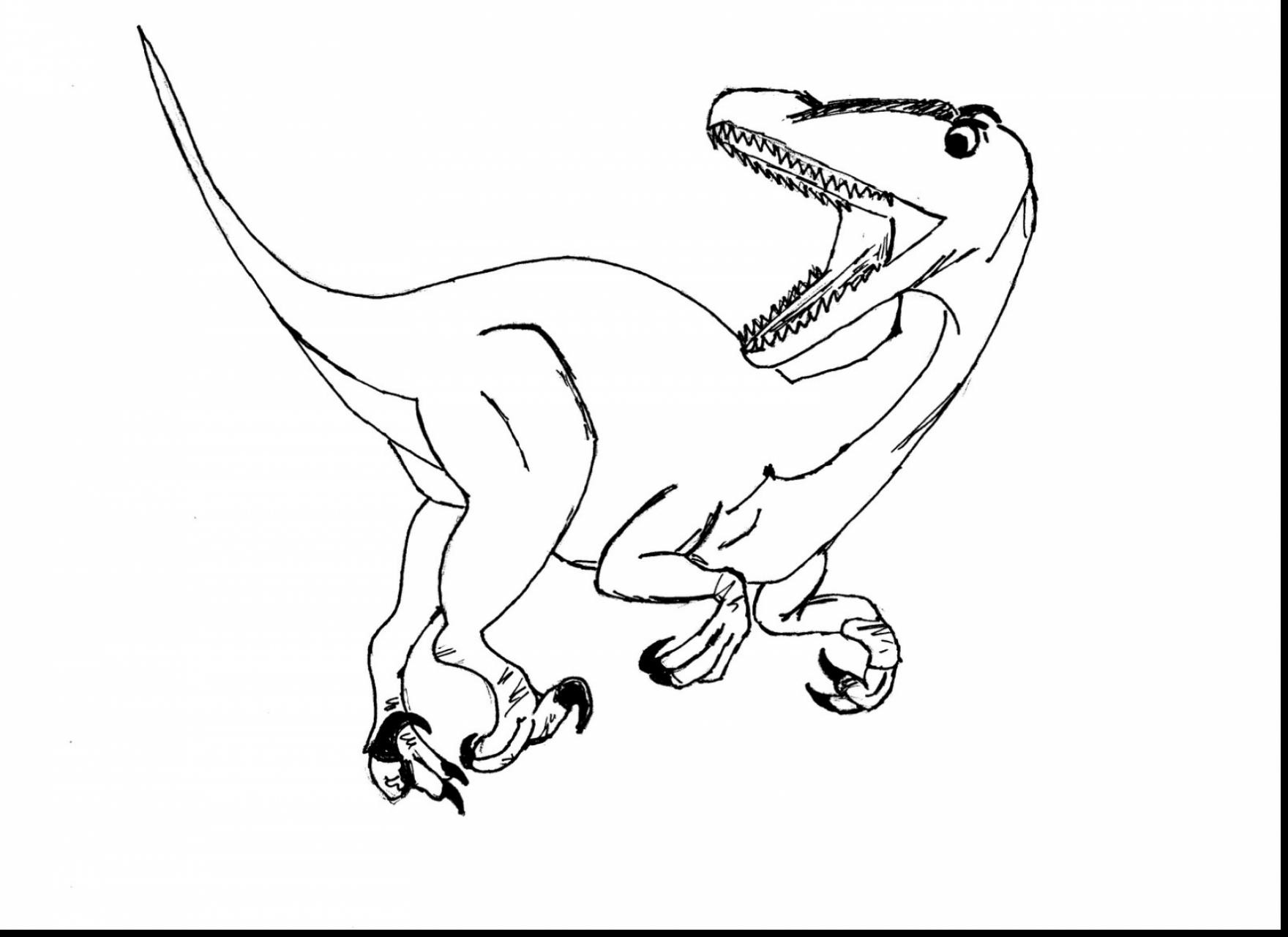 1760x1281 Remarkable Velociraptor Coloring Page Download Free Books Also