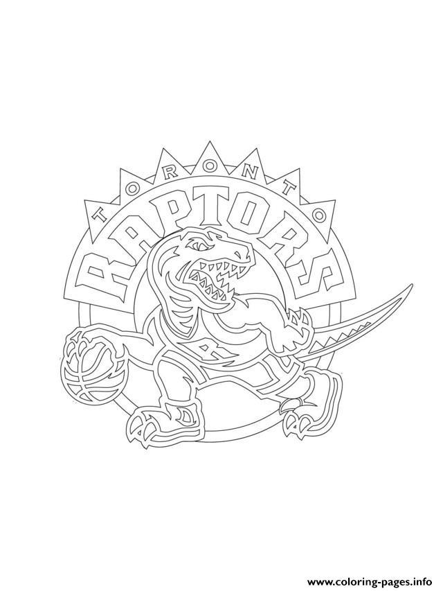 640x853 Toronto Raptors Logo Nba Sport Coloring Pages Printable