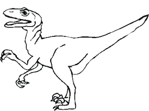 504x375 Dinosaur Coloring Pages Kids Lego Raptor Page Murs