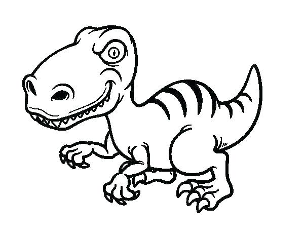 600x470 Jurassic Park Raptor Coloring Pages Park Coloring Page Park