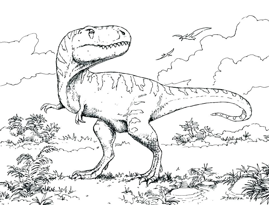 940x717 Park Coloring Pages And Park Raptor Coloring Pages Park Coloring