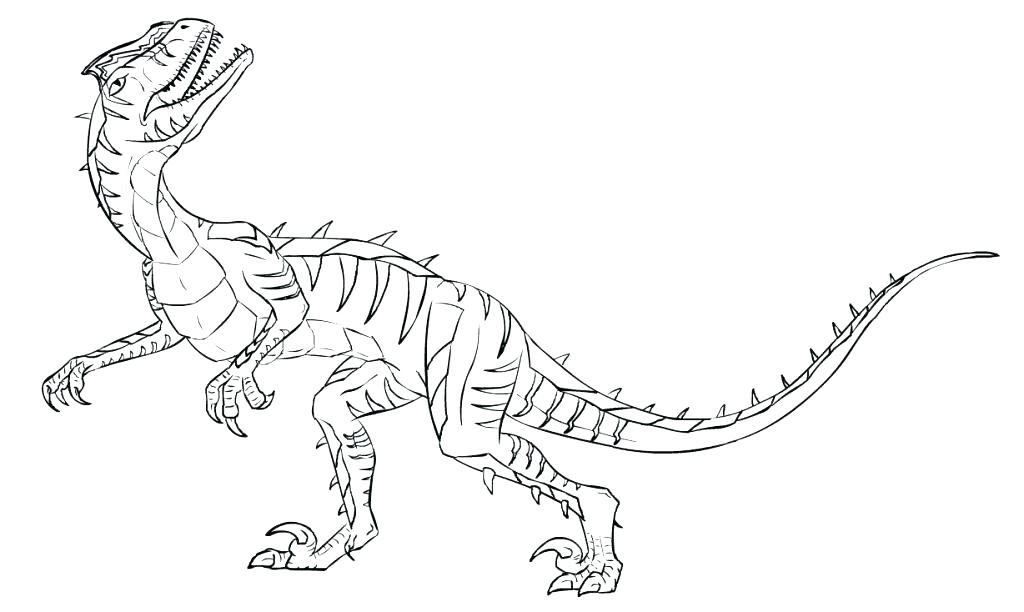 1024x612 Velociraptor Coloring Pages Dinosaur Coloring Pages Photo Gallery