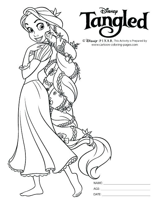 510x660 Tangled Pascal Coloring Pages S Disney Tangled Pascal Coloring