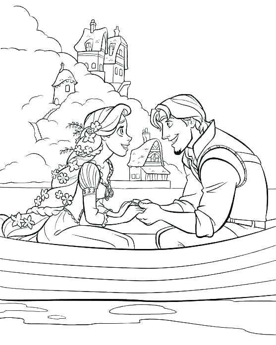 557x697 Princess Rapunzel Coloring Page Color Pages Coloring Pages Tower