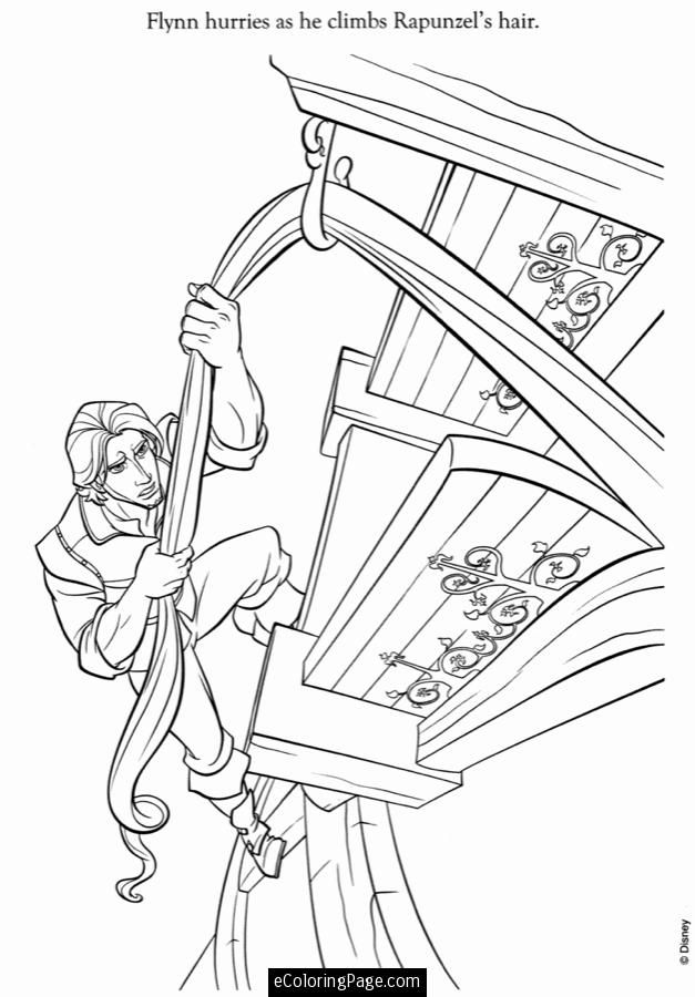 627x900 Best Tangled Disney Coloring Pages Images