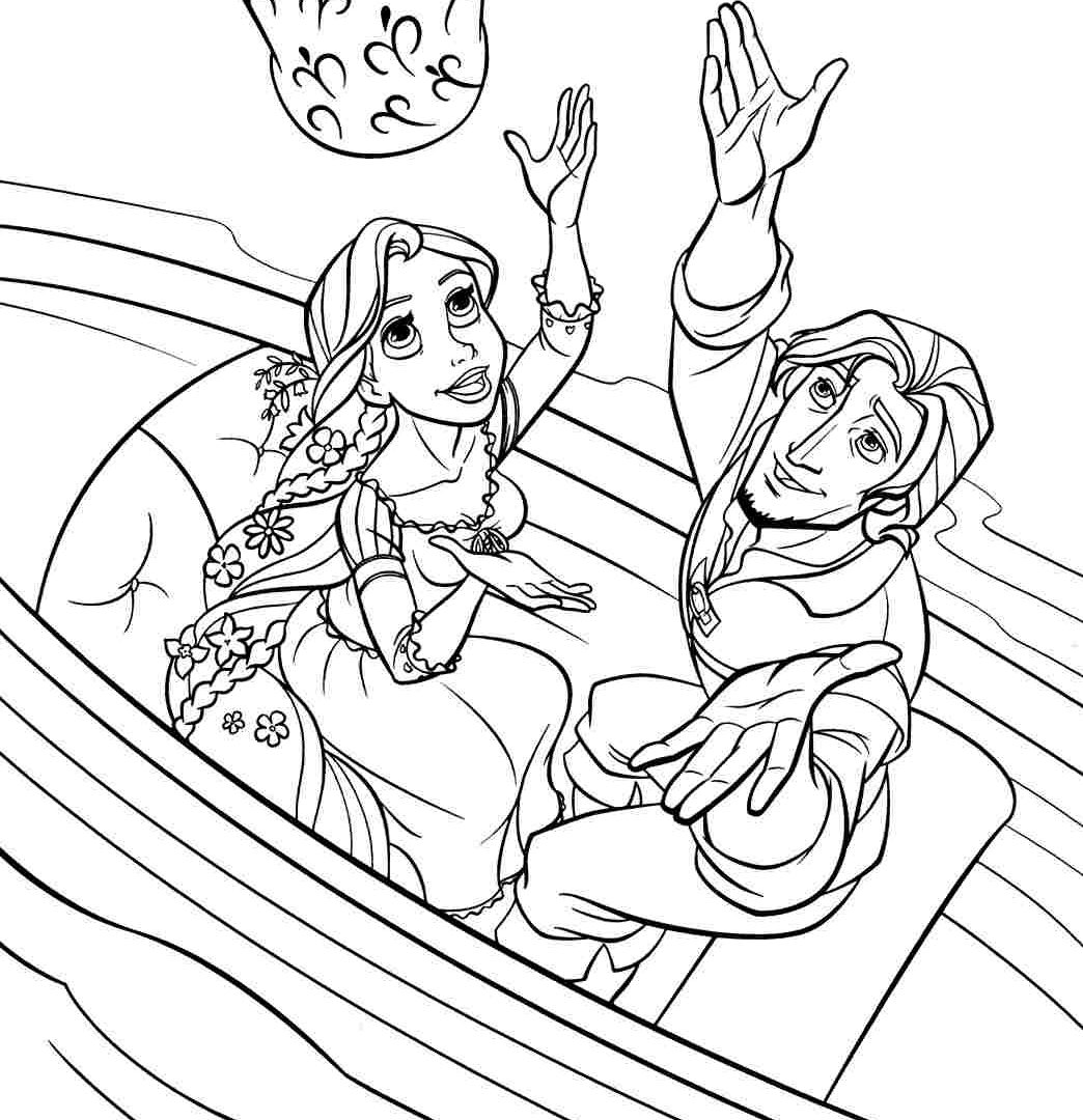 Rapunzel Tower Coloring Page at GetDrawings.com | Free for ...