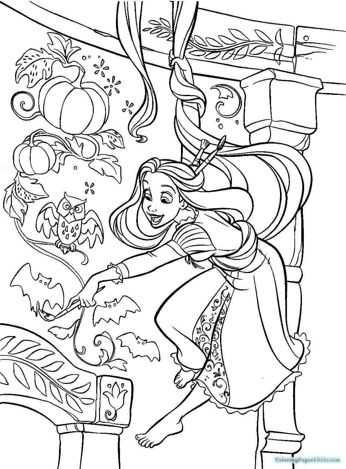 1107x1503 Coloring Pages Tangled Acpra