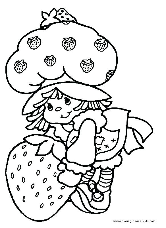 584x800 Wealth Strawberry Shortcake Coloring Pages To Print Raspberry