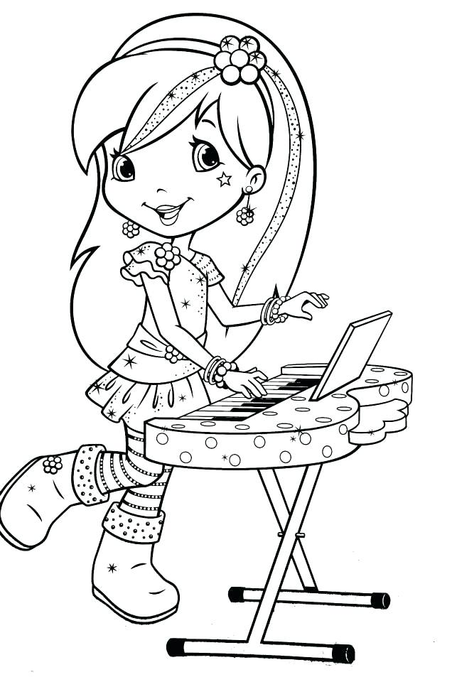 636x960 Coloring Pages Mesmerizing Free Strawberry Shortcake Coloring