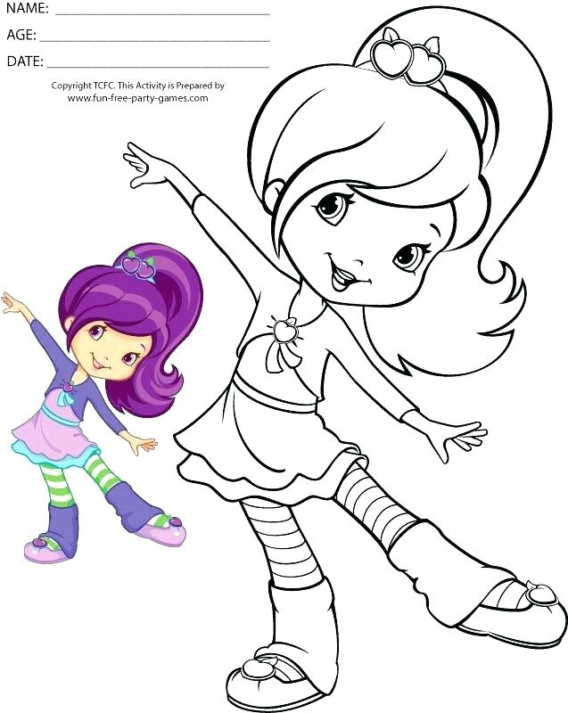 637x800 Strawberry Shortcake Color Pages Strawberry Shortcake Characters