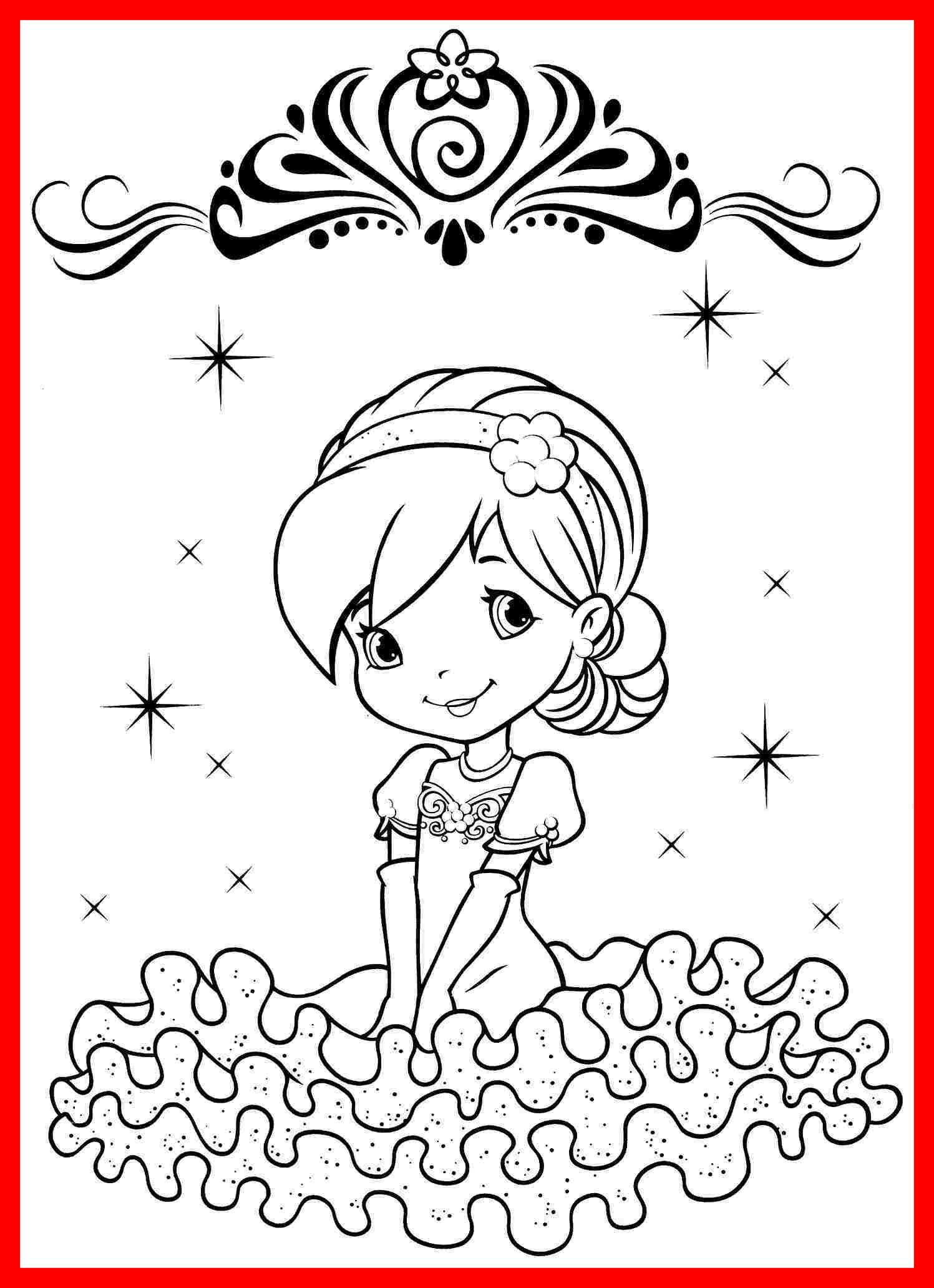 1497x2064 Strawberry Shortcake Printable Coloring Pages