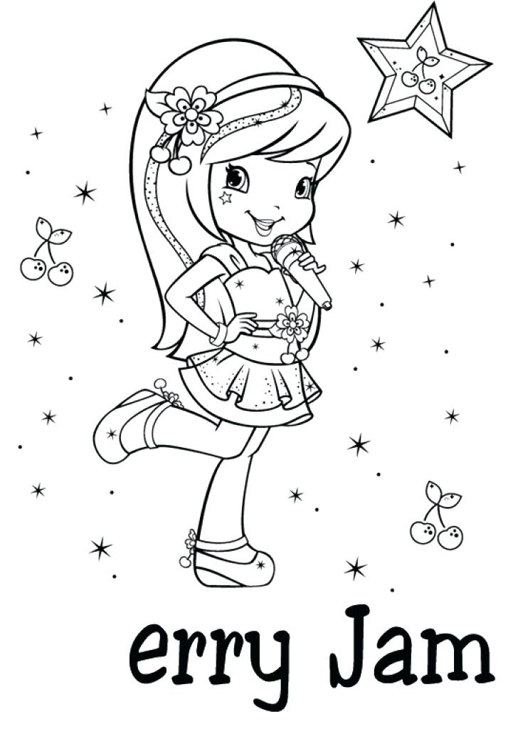 721x1024 Strawberry Shortcake Coloring Pages Cool Coloring Pages Best