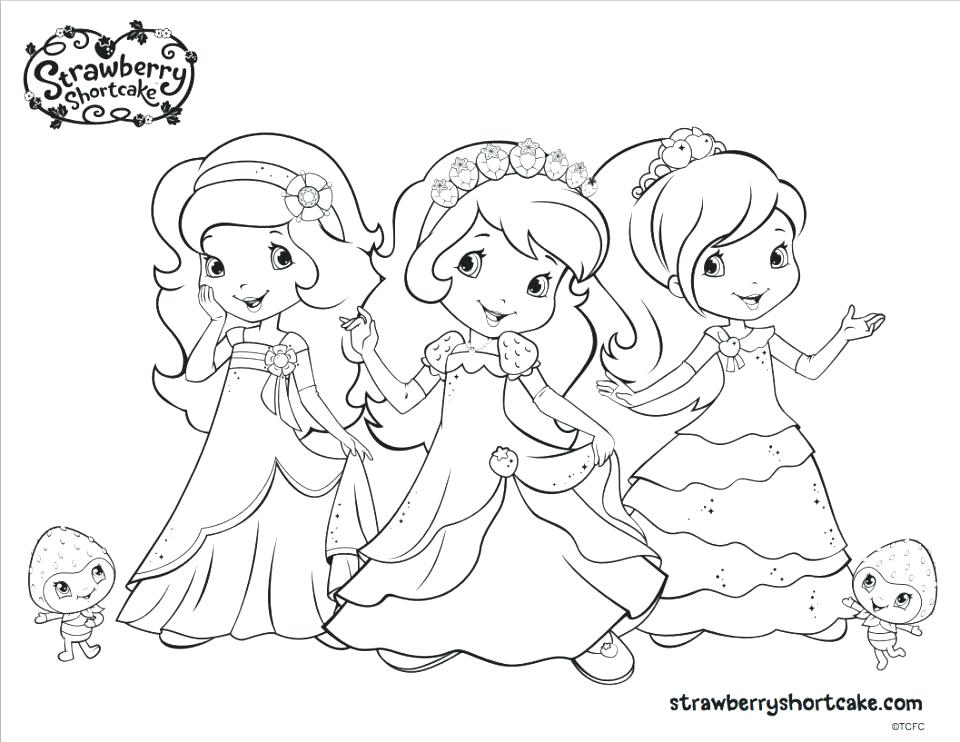 960x742 Printable Strawberry Shortcake Coloring Pages Printable Strawberry