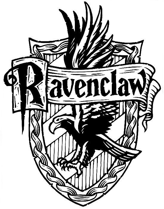 Ravenclaw Crest Coloring Pages At Getdrawings Com Free For