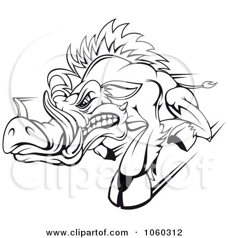Razorback Coloring Pages