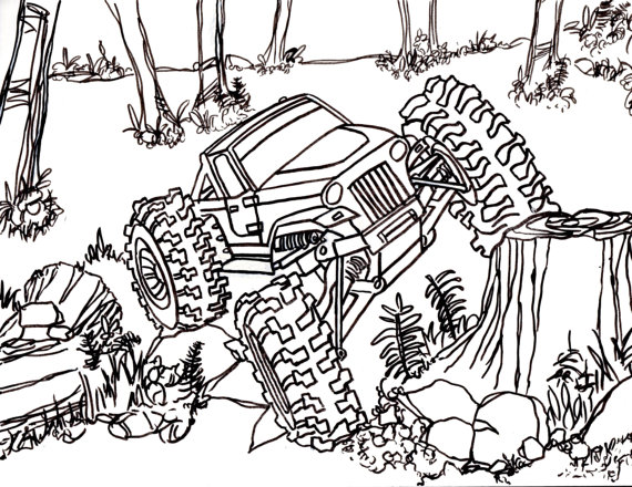 Rc Coloring Pages