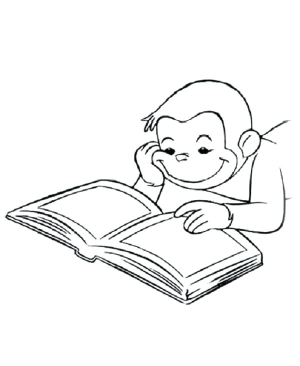 600x732 Reading Coloring Page Coloring Pages Books Of The Bible Reading