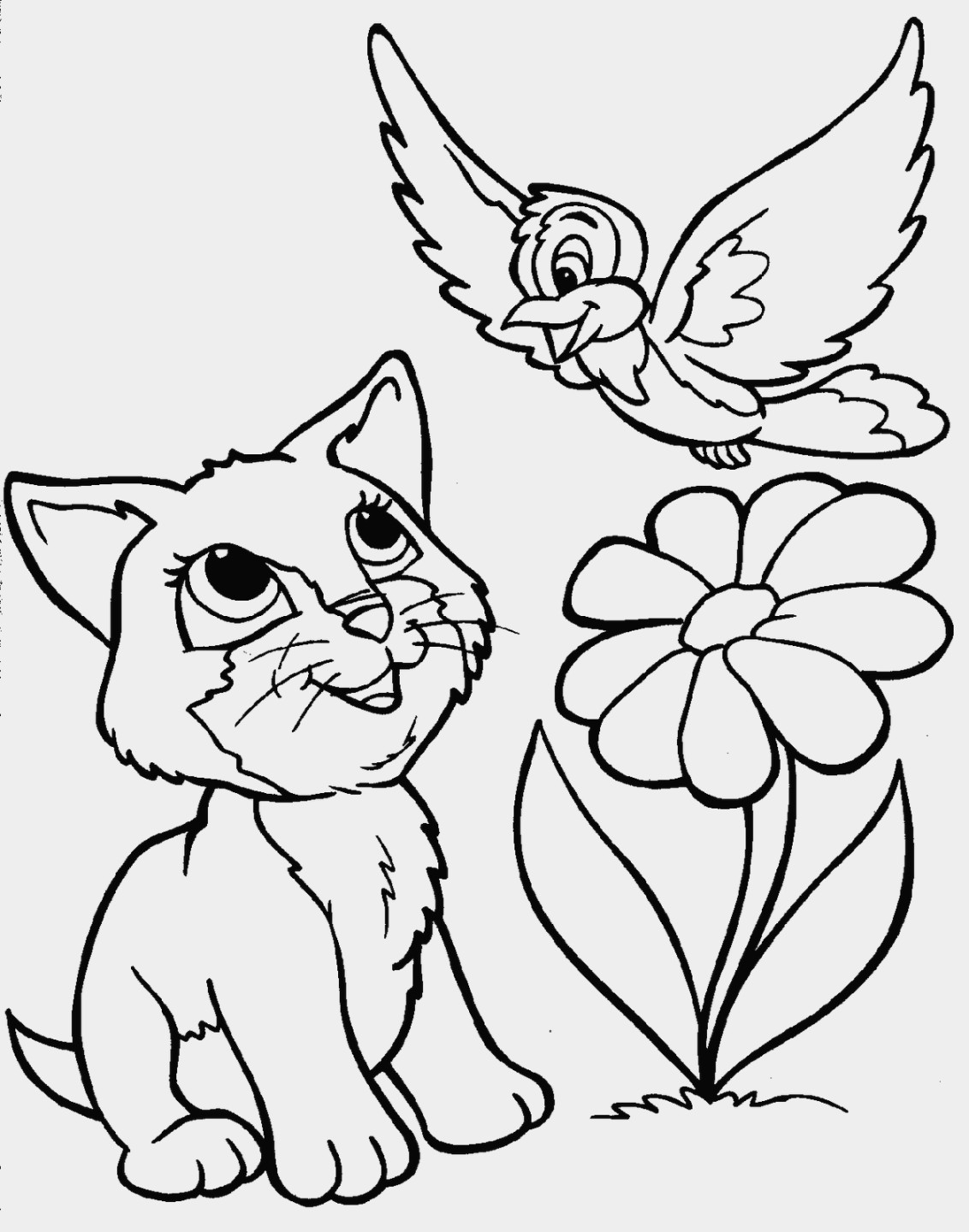 1132x1440 New Cutekawaii Animal Coloring Pages Design Printable Coloring Sheet