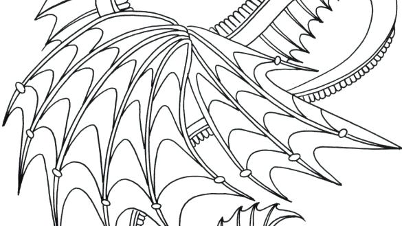 585x329 Real Dragon Coloring Pages Real Dragon Coloring Pages Happy